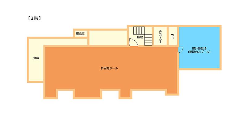 園内見取図 つぼみ保育園 | 熊本市 認可保育園 | 熊本市中央区国府にある認可保育園